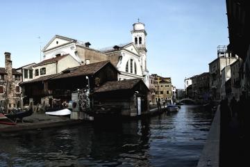 italien - Venedig - squero di san trovaso