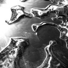 fine art fotografie - thawing alster